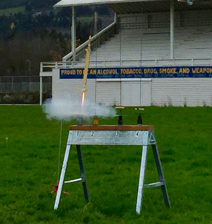 QCR Helo Duration Rocket